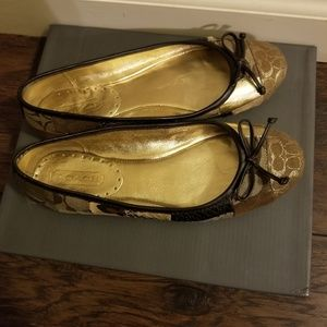 Coach shoes/flats